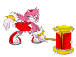 Werehog Amy by Kojiro-Brushard
