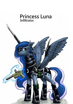Gamer Luna taking it to the next level... by Rex42