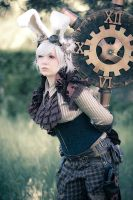 Mistress of Time and Space by MaslowskiPhotograph