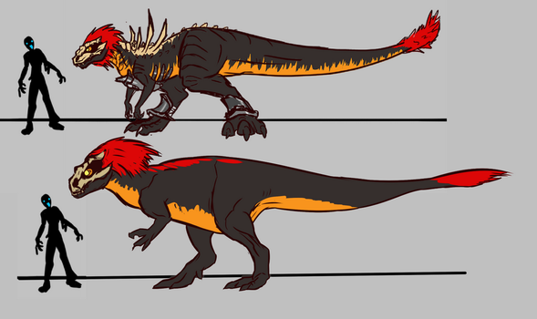 Vendetta Rex Redesign by alorix