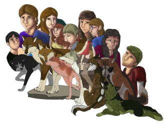 The Pack WIP 3 by Gerundive