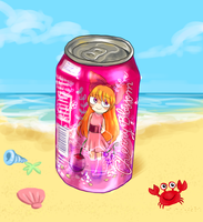 Cherry Blossom soda by meimeix