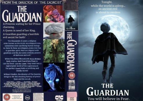 Jack Frost The Guardian VHS by Trackforce