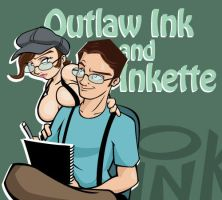 Ink and Inkette by outlawink