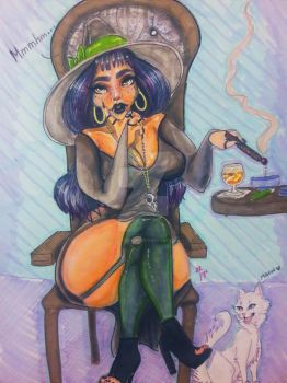 Witchy Woman by EvilEssence