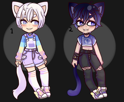 Kemonomimi Adopts .closed by Divinity-Adopts