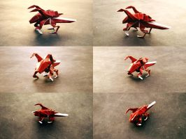 Origami Zerglings by axcho