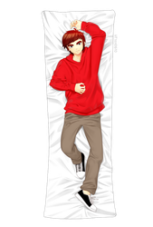 (FA)Turhey Tom_body pillow by UYENTHANHTCN