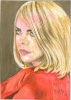 Doctor Who - Rose Tyler in Red by OMangueOTangue