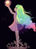 Fairy neon by Anghelorodriguez