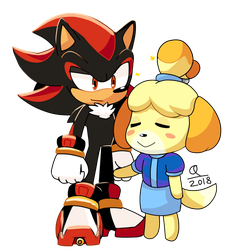 Shadow and Isabelle by QuARK19601