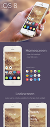 iOS 8 redesign concept by altavizta