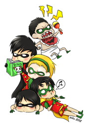 A pile of Robins by yolin