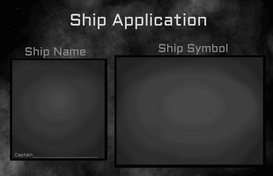 Ship Application For Captains by faithbrier