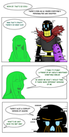 Undertale Green Chapter 5 Page 1 by FlamingReaperComic