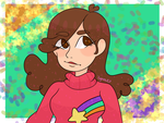 Mabel Pines fanart by Kagamikat2000
