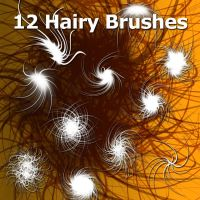 12 Hairy Brushes by XResch