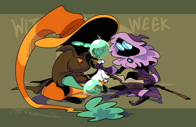 Witchsona Week 2017 by 7-Days-Luck