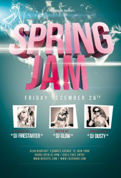 Spring Jam Flyer / Videoflyer by nadaimages