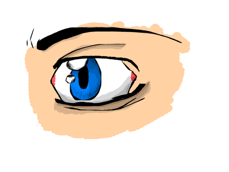 Eyeballs...Now in color by Riotpopperlord