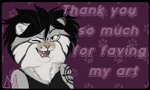 Thanksforfav by Lynxurious