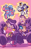 A Couple of Game Boys by TheSteveYurko