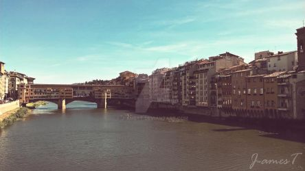 PONTE VECCHIO Florence(Italy) by J-amesT