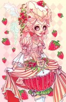 Strawberries And Cream by NoFlutter