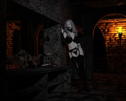 Lady Death Chamber of horror by eliasw84
