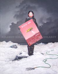 The Second Painting Of Jie Xia by kolaboy
