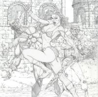Red Sonja by ScottJc
