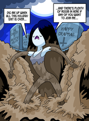 Marcy's Xmas Muckhole by curtsibling