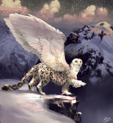 Featherfoot by alexandrabirchmore