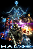 HALO 6  POSTER  OFFICIAL by TOA316XDNUI-OFFICIAL