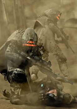 Helghast Recon Snipers 4 by jano233