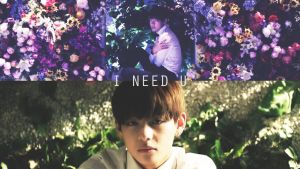 V wallpaper (PC version) I need u japanese MV by NikS3