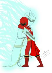 Magimother and Magi red - Mother and son by PowerSentai2016