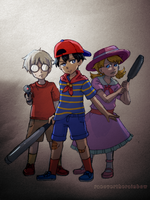 MOTHER1 Trio by RaeOverTheRainbow