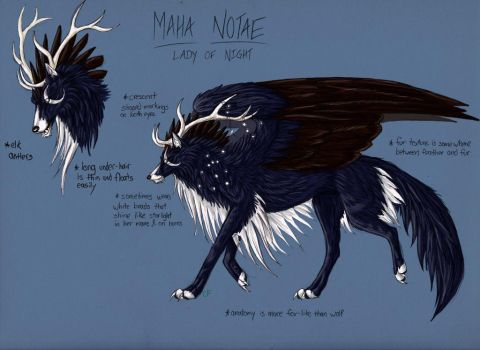 Maha Notae, Lady of Night by ElementalShifter