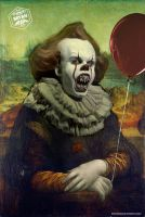 Pennywise Mona Lisa by Bryanzap