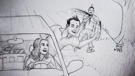 Love At First Stab_ Drive by stabbing by Jack-so-Slack