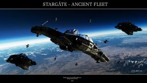 Stargate - Ancient Fleet by Mallacore