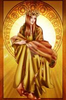 The Sun by Queen-Uriel
