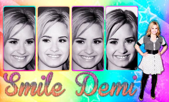 Smile Demi by Galaxy-Love