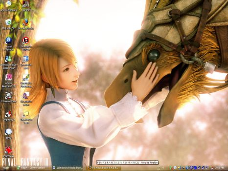 FF3 Desktop Screenshot by Arwym