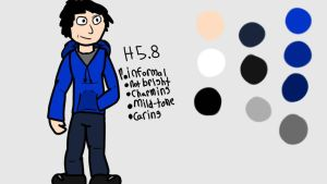 Dan Character Reference by Danbrofist