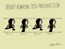 Bendy Running Test Animation (Contest Entry) by AngryBirdsandMixels1