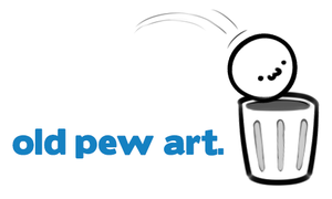 old pew art by pewbutt