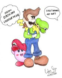 Happy Birthday Creation7X24 !! by Nintendo385