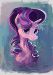 Starlight Glimmer portrait by Plainoasis